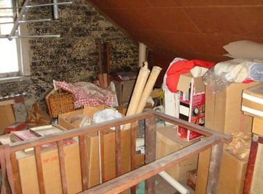 junk in the garage