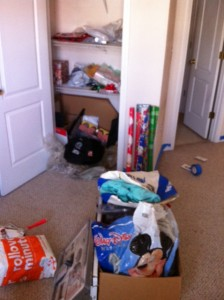 Cleaning out a Closet