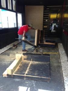 renovation debris removal