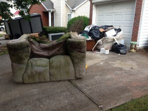 "Mr Junk believes in carefully tending the details. Where some companies will simply haul your junk and go, our company was built on the principle that our customers are the heart of the job. Whether it's removing broken furniture in Marietta or cleaning out a Canton tool shed, we do our job thoroughly and efficiently to make certain you don't have another cleanup once we're done. Yard Waste Removal When you hire an Atlanta junk removal service, the last thing you want is dirt and debris left behind. ""When [your junk has] been sitting out for awhile, leaves collect all around the pile,"" says Alex, founder of Mr Junk. ""We clean, then rake or sweep to make sure it's perfect: like it was never there."" Renovation debris, storage unit cleanouts, and furniture and junk hauling all leave messes behind, but with Mr Junk you never return home to anything but a pristine home or yard. Recycling and Donation With great stuff comes great responsibility, and the Mr Junk team believes in giving back to the community. We recycle or donate any hauled material in good condition. By contributing to those in need and focusing on environmental concerns, we help you reclaim your living space and pay it forward with the furniture and appliances you no longer need. We safely dispose of renovation debris and yard waste we can't recycle. And since our number one concern is our customer, we always follow-up to ensure your satisfaction with your new, clean living space. If you're removing organic yard waste, cleaning out your storage shed, or removing large items from your home, call Mr Junk for first class service and consideration."