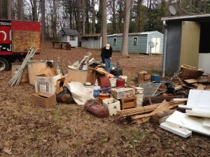 home junk removal job