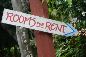 rental property sign