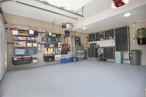 Organizing the garage