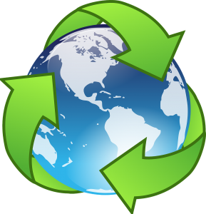 recycling logo around the world